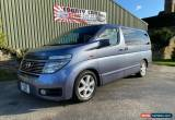 Classic Nissan Elgrand 3.5 V6 Auto Highway-Star 2002-52-Reg, RARE FULL LEATHER,  for Sale