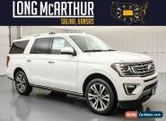 2020 Ford Expedition Max Limited Extended 4x4 Trailer Tow MSRP$77450 for Sale