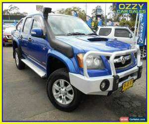 Classic 2008 Holden Colorado RC LX (4x4) Blue Manual 5sp M Crew Cab P/Up for Sale