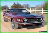 Classic 1969 Ford Mustang S-Code 390, Loaded, Documented, for Sale
