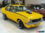 1974 Holden Torana LH SL/R Chrome Yellow Manual 4sp M Sedan for Sale