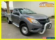 2015 Mazda BT-50 UP0YD1 XT Hi-Rider Cab Chassis Single Cab 2dr Spts Auto 6sp A for Sale