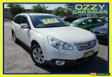 Classic 2011 Subaru Outback MY11 2.5I Premium (Sat-Nav) White Automatic A Wagon for Sale