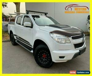 Classic 2013 Holden Colorado White Automatic A Cab Chassis for Sale