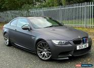 2011 E92 BMW M3 COUPE DCT COMPETITION FROZEN BLACK - DCT - FSH - PX SWAP for Sale
