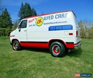 Classic 1994 Chevrolet G20 Van Short Van for Sale
