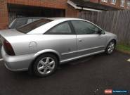 2001 VAUXHALL ASTRA BERTONE COUPE 1.8 SILVER WITH HALF LEATEHER INTERIOR for Sale