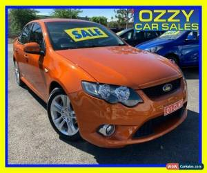 Classic 2011 Ford Falcon FG Upgrade XR6 Orange Automatic 6sp A Sedan for Sale