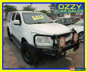 Classic 2013 Holden Colorado RG LX (4x4) White Manual 5sp M Crew Cab P/Up for Sale