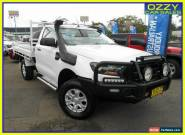 2016 Ford Ranger PX MkII XL 3.2 (4x4) White Automatic 6sp A Cab Chassis for Sale