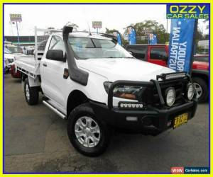 Classic 2016 Ford Ranger PX MkII XL 3.2 (4x4) White Automatic 6sp A Cab Chassis for Sale
