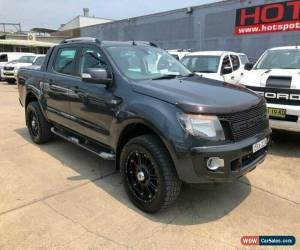 Classic 2012 Ford Ranger PX Wildtrak Grey Manual M Utility for Sale