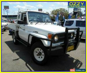 Classic 1995 Toyota Landcruiser 3 Seats LWB (4x4) Manual 5sp M Hardtop for Sale