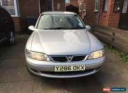 2001 VAUXHALL VECTRA LS SILVER for Sale