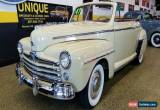 Classic 1947 Ford Super Deluxe Convertible for Sale
