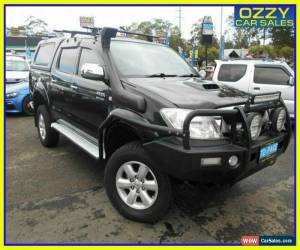 Classic 2011 Toyota Hilux KUN26R MY11 Upgrade SR5 (4x4) Black Automatic 4sp A for Sale