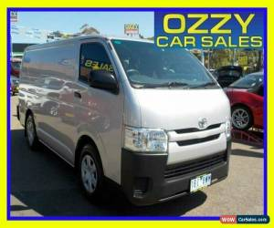 Classic 2014 Toyota HiAce TRH201R MY14 LWB Silver Automatic 4sp A Van for Sale
