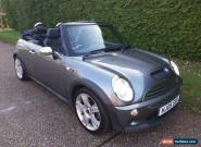 MINI COOPER S CONVERTIBLE  6-SPEED 2005(05) for Sale