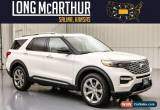 Classic 2020 Ford Explorer Platinum 4WD Premium Tech MSRP $62348 for Sale