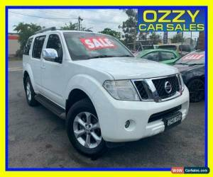 Classic 2011 Nissan Pathfinder R51 Series 4 ST-L (4x4) White 5 SP AUTOMATIC Wagon for Sale