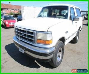 Classic 1993 Ford Bronco 4x4 Sport Utility XLT for Sale