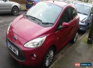 FORD KA ZETEC (14 REG) 1.2 PETROL 3 DOOR HATCHBACK LOW MILES for Sale