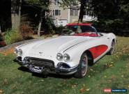 1961 Chevrolet Corvette 2 Door for Sale