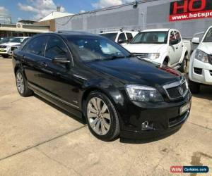 Classic 2012 Holden Caprice WM II V Black Automatic A Sedan for Sale