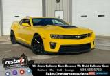 Classic 2013 Chevrolet Camaro ZL1, LSA 6spd, 9k Miles, Rally Yellow, Bumble Bee for Sale