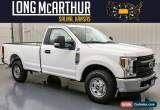 Classic 2019 Ford F-250 XL Reg Regular Cab Long Bed 8 ft MSRP $37585 for Sale
