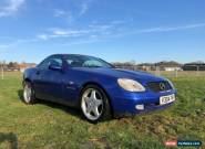 Mercedes SLK 230K Blue Petrol Automatic 1999 (very Low Mileage)  for Sale