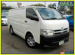 2011 Toyota HiAce KDH201R MY11 Upgrade LWB White Manual 5sp M Van for Sale