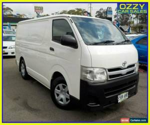 Classic 2011 Toyota HiAce KDH201R MY11 Upgrade LWB White Manual 5sp M Van for Sale