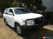 2008 Toyota Landcruiser VDJ200R GXL (4x4) White Automatic 6sp A Wagon for Sale