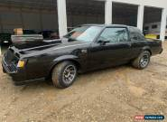 1987 Buick Grand National 1987 buick grand national for Sale