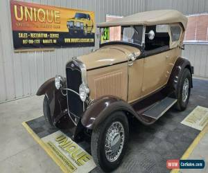 Classic 1931 Ford Model A 2dr Phaeton Street Rod for Sale