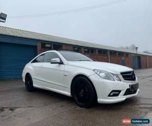 Classic Mercedes e250cdi auto sport coupe 2010 not damaged salvage or spares or repairs for Sale