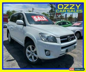 Classic 2010 Toyota RAV4 GSA33R 08 Upgrade SX6 White Automatic 5sp A Wagon for Sale