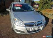 2007 vauxhall astra automatic low mileage  for Sale