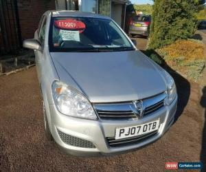 Classic 2007 vauxhall astra automatic low mileage  for Sale