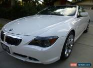 2006 BMW 6-Series for Sale
