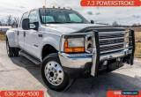 Classic 2001 Ford F-550 Chassis 4x4 SD Crew Cab 176.2 in. WB DRW HD Lariat for Sale