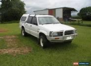 97 MAZDA BRAVO 4X4 DUAL CAB UTE NO RESERVE. for Sale