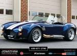 1965 Shelby Cobra Backdraft Racing Cobra for Sale