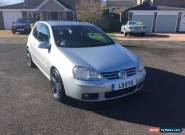 2005 VOLKSWAGEN GOLF GT TDI SILVER for Sale