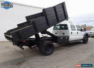 2013 Ford F-550 Dump Truck for Sale