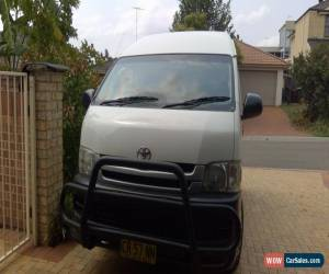 Classic 2008 TOYOTA HIACE,COMMUTER 14 SEATERS,MANUAL 5 SPEED DIESEL for Sale