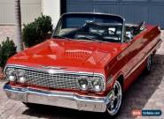 1963 Chevrolet Impala Convertible 454 for Sale