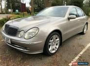 2005 MERCEDES BENZ E CLASS AVANTGUARD E280  CDI AUTO SALOON V6 DIESEL FULL MOT for Sale
