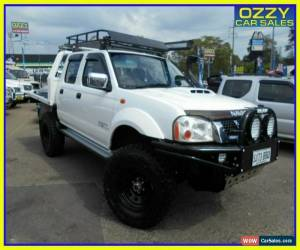 Classic 2009 Nissan Navara D22 MY08 ST-R (4x4) White Dual Cab Pick-up for Sale
